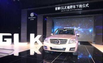 Mercedes GLK China