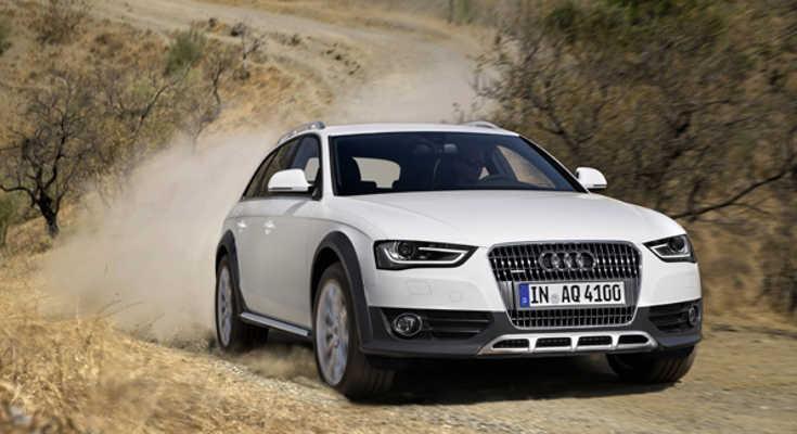 Audi A4 allroad quattro 2012