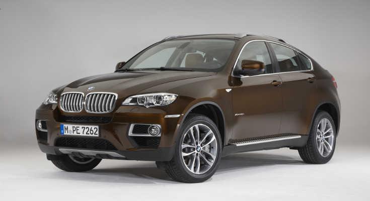 BMW X6 Facelift 2012