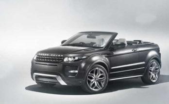 Range Rover Evoque Convertible Concept 2012