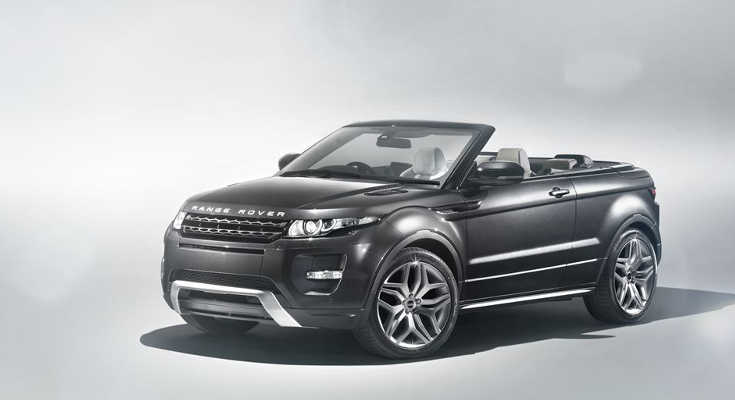 oben ohne in genf range rover evoque in als convertible. Black Bedroom Furniture Sets. Home Design Ideas