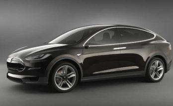Tesla Model X Prototyp 2012