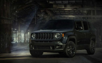 Jeep Renegade Dawn of Justice Special Edition 2016