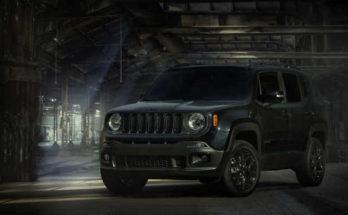 Jeep Renegade Dawn of Justice Special Edition 2016
