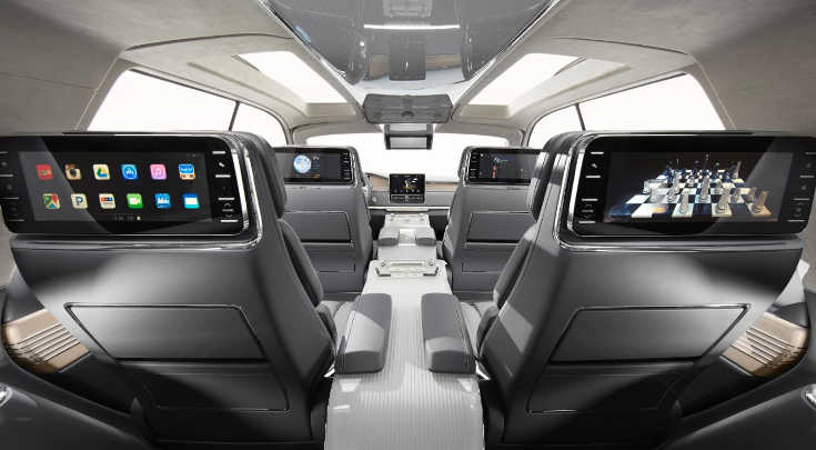 Lincoln Navigator Concept 2016 Interieur
