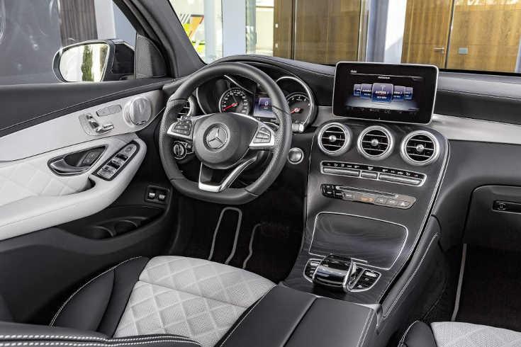 Mercedes GLC Coupé Interieur