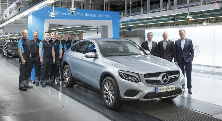 Mercedes GLC Coupé 2016