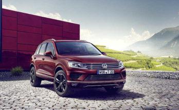 VW Touareg Executive Edition 2016