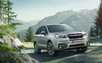 Subaru Forester Sondermodelle Huntergreen & Citygreen