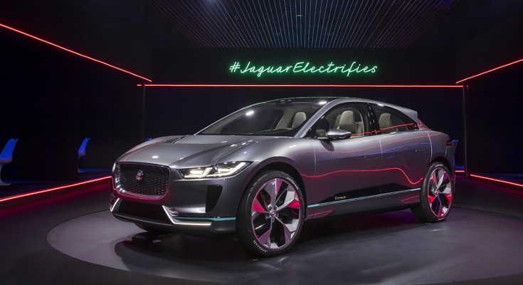Jaguar i-Pace Concept LA Auto Show 2016