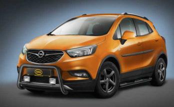 Opel Mokka X mit Cobra Bullenfänger und Schwellerrohre