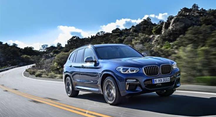 BMW X3 III 2017