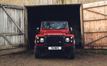 Land Rover Defender Works V8 Edition 2018