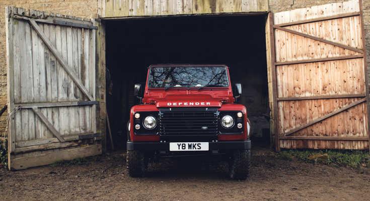 Land Rover Defender Works V8 Edition 2018