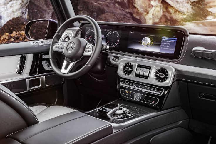 Mercedes G-Klasse 2018 Interieur