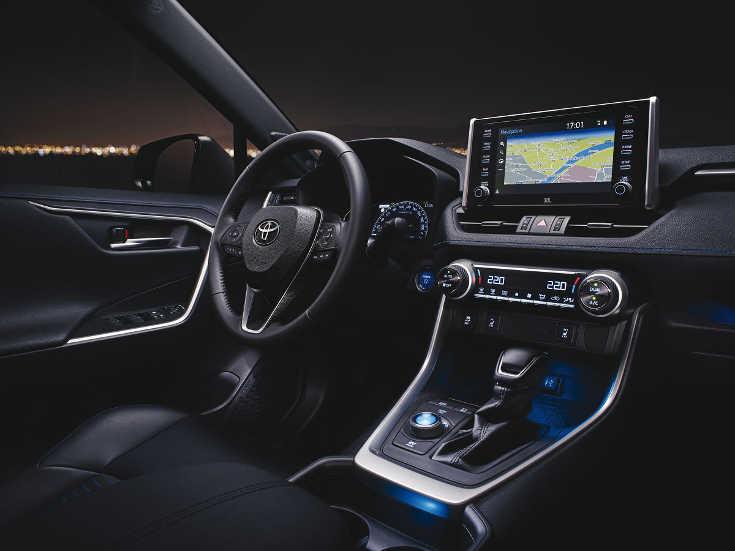 Toyota RAV4 V (2019) Interieur