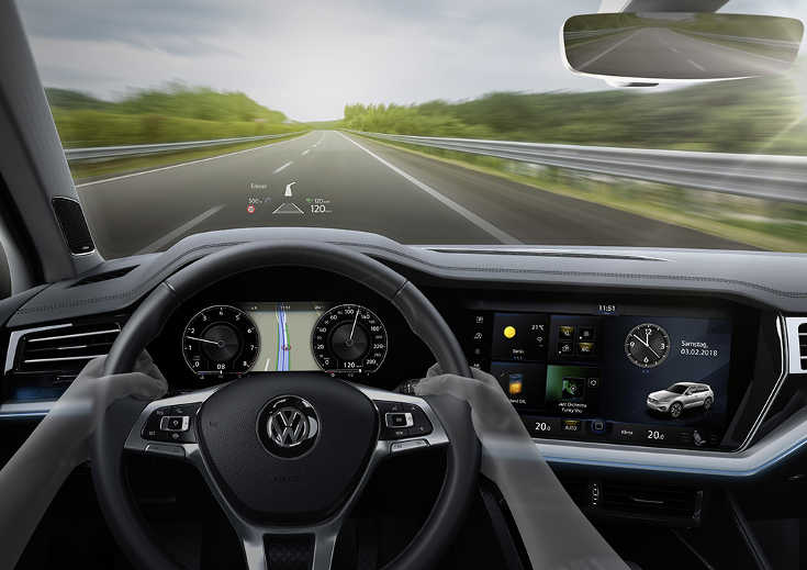 VW Touareg III (2018) digitales Innovasion Cockpit