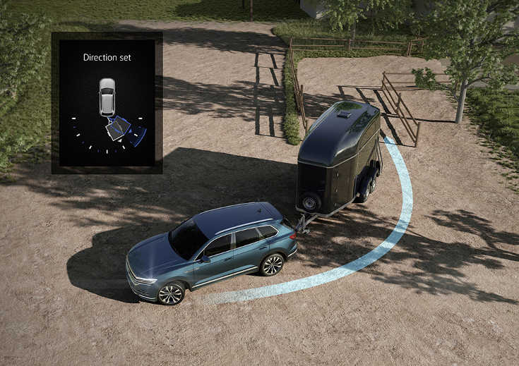 VW Touareg III (2018) Trailer-Assist