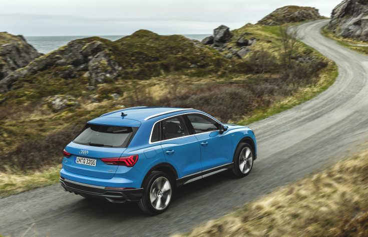 Audi Q3 II (2019) Heckansicht