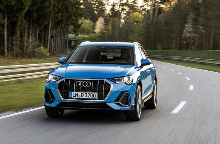 Audi Q3 II (2019) Frontansicht