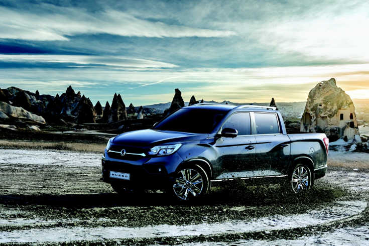 SsangYong Musso 2018