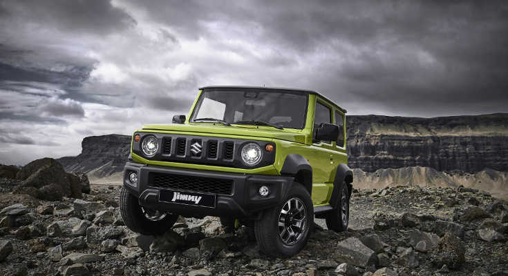 suzuki jimny iv 2019 neuer kraxler ab euro suv motors de. Black Bedroom Furniture Sets. Home Design Ideas