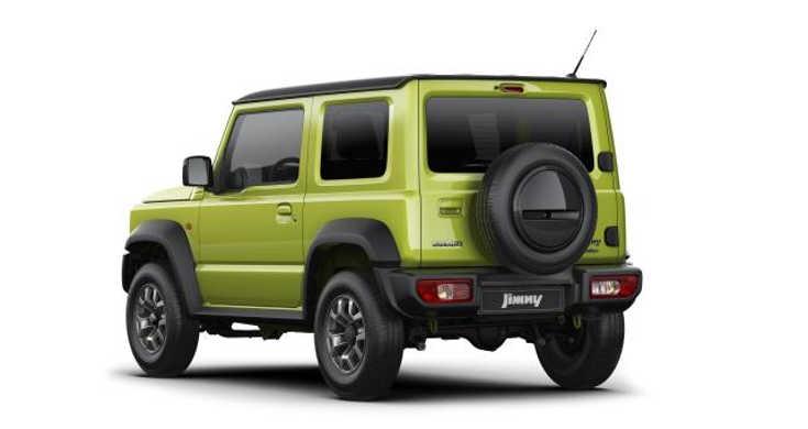 Suzuki Jimny IV (2019) Heckansicht