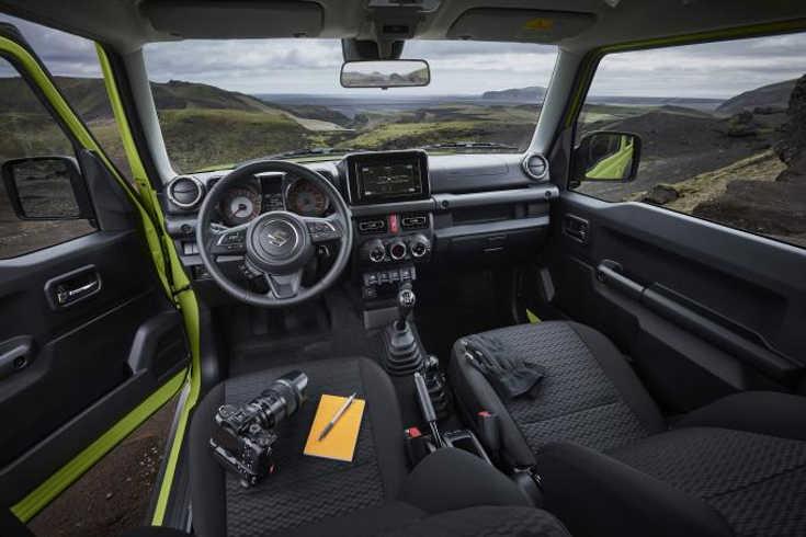 Suzuki Jimny IV (2019) Interieur
