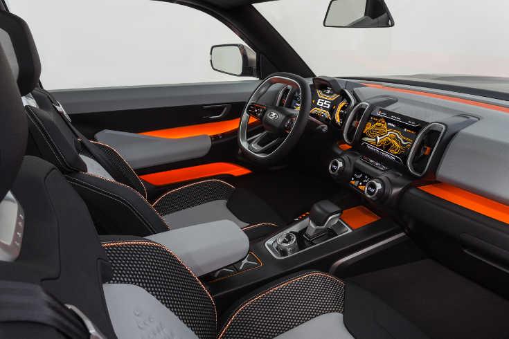 Lada Vision 4x4 Concept 2018 Interieur & Cockpit