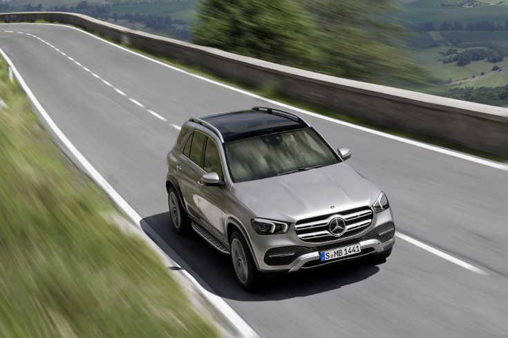 Mercedes GLE 2019 W167 Interieur