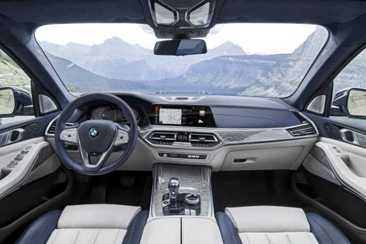 BMW X7 G07 2019 Interieur