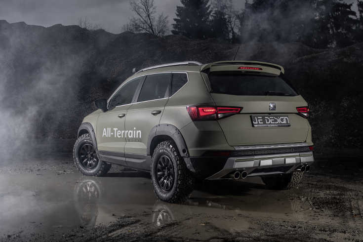 seat ateca all terrain offroad tuning kit von je design. Black Bedroom Furniture Sets. Home Design Ideas