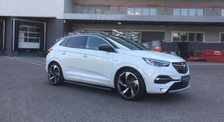 ab 2017 Dachträger Menabo Tema Opel Grandland X SUV 5 Türer