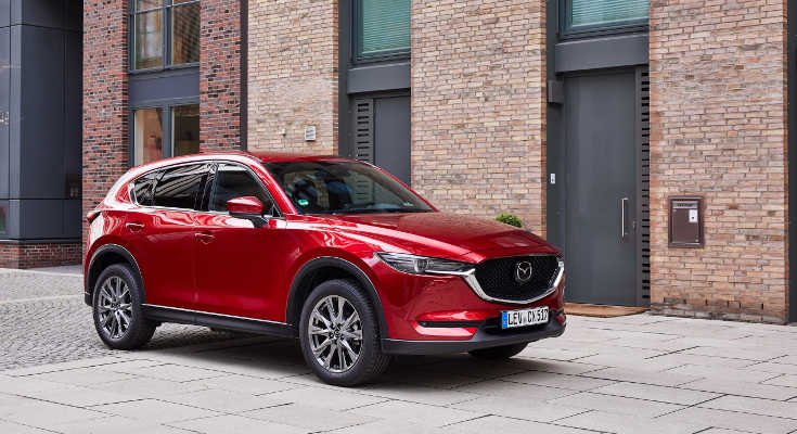 JIERS F/ür Mazda CX-5 CX5 CX 5 2017-2019 deckt der Knopf f/ür die Einstellung des Schalters f/ür die Einstellung des Autositzes die Innenausstattung ab