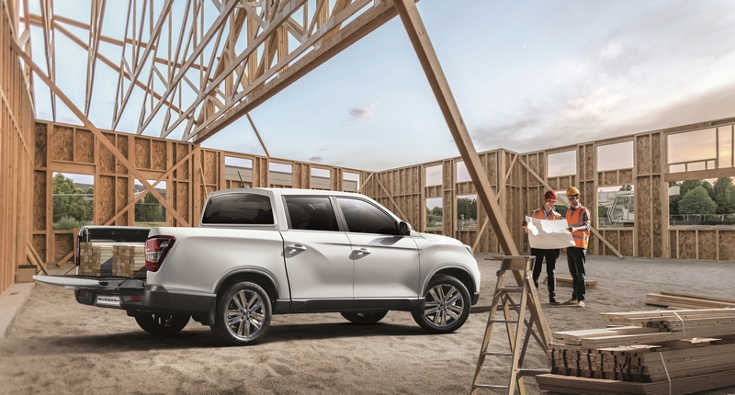 SsangYong Musso Grand 2019