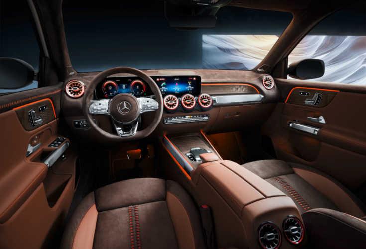 Mercedes Concept GLB 2019 Interieur