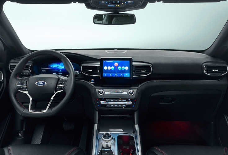 Ford Explorer Plug-in-Hybrid 2019 Interieur & Cockpit