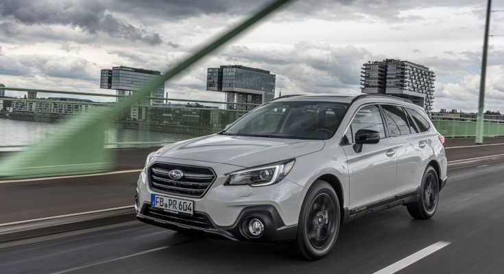 Subaru Outback Sport X: Sondermodell mit schwarzen Extras
