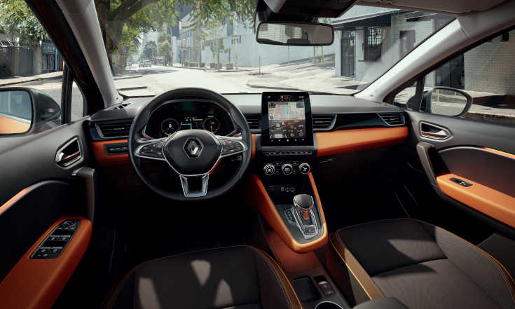 Renault Captur 2020 Cockpit