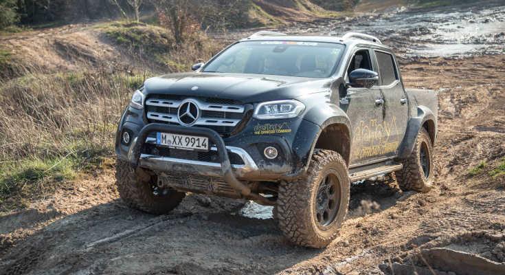 Noch mehr offroad: Tuner Delta4x4 pimpt Mercedes X-Klasse