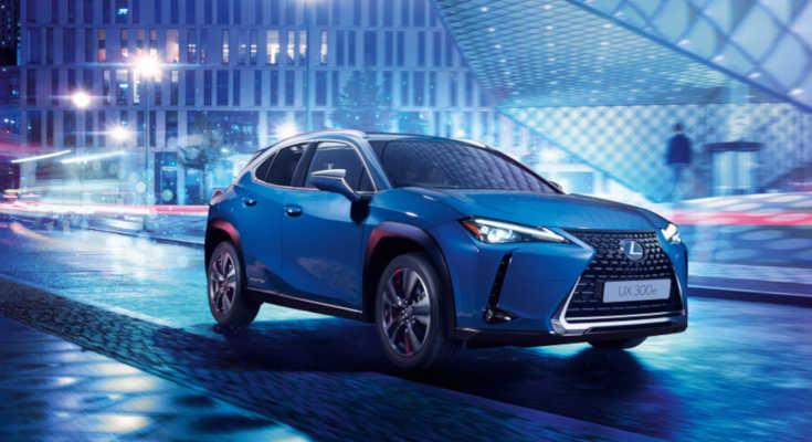 Lexus UX 300e: Erstes Elektroauto rollt 2020 ins Autohaus