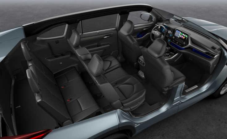 Toyota Híghlander 2021 Innenraum