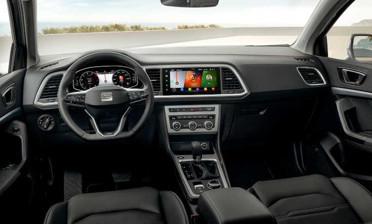 Seat Ateca 2020 Facelift Cockpit
