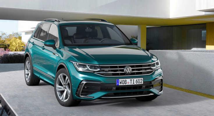 VW Tiguan 2020 Facelift R-Line