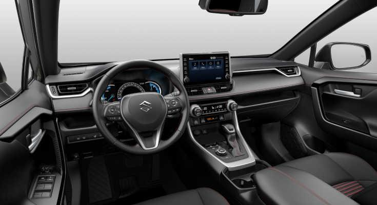 Suzuki Across 2021 Cockpit