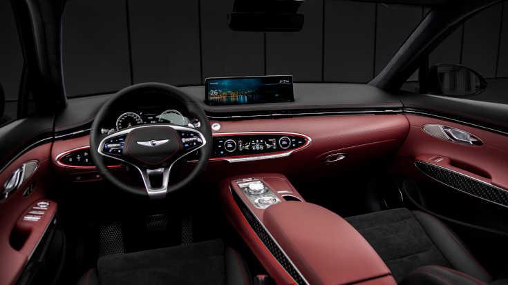 Genesis GV70 Cockpit Sportversion
