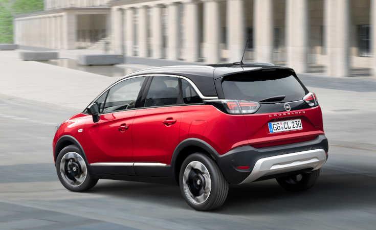 Opel Crossland 2021: ohne X, dafür mit Vizor-Gesicht