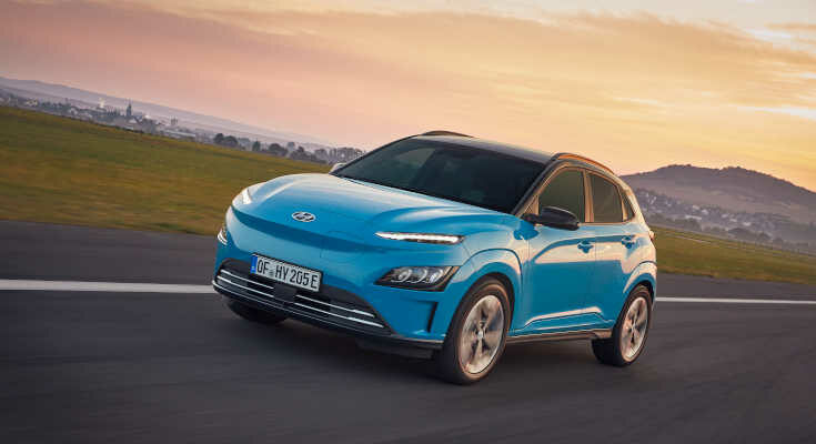 Hyundai Kona Elektro 2021: neues Design, mehr Konnektivität