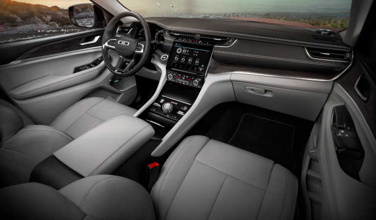 Jeep Grand Cherokee 2021 Interieur