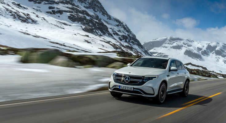 Mercedes EQC 2021: neues Basismodell & neue AMG-Sportversion